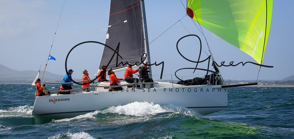 J97 Injenious - IRC Welsh Champions - photo by Andy Green - Green Sea Photography